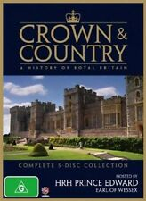 Crown & Country - A History Of Royal Britain (DVD, 2009, 5-Disc Set) NEW