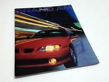 1998 Pontiac Grand Am SE GT Brochure