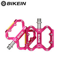 """MTB Mountain Road Bike Cycle Bicycle Cycling Flat Platform Pedals 9/16"""" Aluminum"""