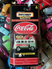 Matchbox Collectibles Coca Cola 1967 VW Transporter Bus In Package #96549