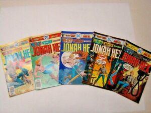 1975 Weird Western Tales #30,31,32,33 & 34 Jonah Hex Origin DC Comics VG