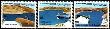 Jordanien Jordan 1976 ** Mi.1064/66 Landschaft Landscape Staudamm Dam