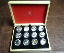 2013 O Canada 12 Coin  1/2 Oz Silver Set
