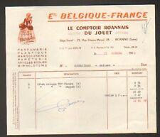 """ROANNE (42) COMPTOIR DU JOUET """"Ets. BELGIQUE-FRANCE"""""""
