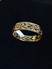 NEW ST JOHN KNIT WOMENS BRACELET DESIGNER GOLD COLOR BANGLE