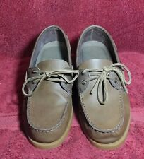 Columbia Sportswear Perfect Cast Boat Shoes Leather Men 10 W