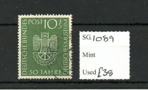 Germany 1953 50th Anniversary of Science Museum SG1089 Very Fine Used SG cv £38