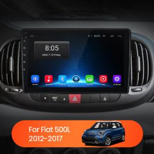 "Autoradio 9"" Android Fiat 500L 2012-2017 BT Navi Gps Wi-fi mirrorlink"