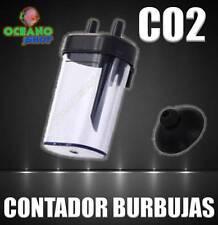CONTADOR DE BURBUJAS CO2 ACUARIO PLANTAS PLANTADO ABS CON VENTOSA CUENTA BURBUJA