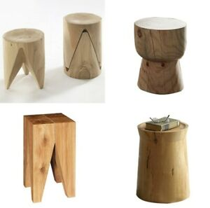 Natural Solid Wood Stool Minimalist Creative Furniture Articles Simple design