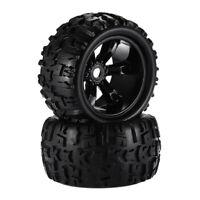 1/8 Climbing RC Car Truck Wheels Tires 8477 Fits for HSP HPI E-MAXX Savage