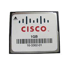 CISCO 1GB CompactFlash CF Memory Card SLC Industrial Grade MEM3800-1GB Genuine
