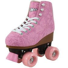 Stmax Quad Roller Skates for Women Size 8 Adult Derby 4-Wheel Rollerskates