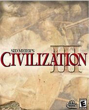 Sid Meier's Civilization III 3 best strategy game PC new CD XP Win7/8 tested