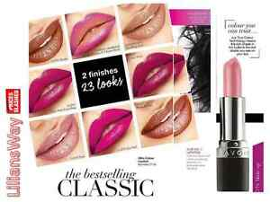 AVON TRUE COLOUR LIPSTICK~VARIOUS~WITH TRUE COLOUR TECHNOLOGY~NEW & DISCONTINUED