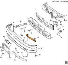 Chevrolet GM OEM 95-01 Lumina-Bumper Mount Bracket Support 10189861 UP