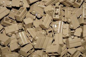 LEGO 40 x SAND YELLOW-DARK TAN BRICKS 1x2 No 98283 - WALL PANEL- STAR WARS-CITY
