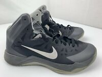 Nike Zoom Hyperquickness Basketball Shoes Mens Size 11 Black Gray 599519 001