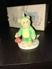 "Cherished Teddies ""Boy in Dinosaur Costume�"