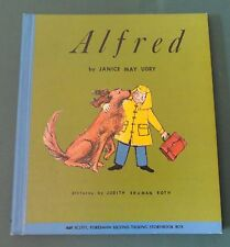 Alfred by: Janice May Udry - Red Dog 1960 Hardcover w/ record Talking Story Book