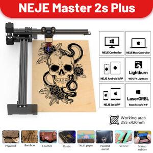 NEJE Master 2s Plus 30W CNC Laser graviermaschine Laser Cutter Schneidenmaschine