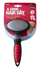 Mikki Hard Pin Slicker Thick Coats XLarge Cat & Dog Grooming
