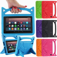 For Amazon Kindle Fire 7/HD8 /HD 10 Kids Shockproof Foam Handle Case Stand Cover