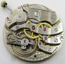 C.H. Meylan 17 jewels 6 adj. Pocket Watch movement . Of