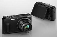 Panasonic LUMIX DMC - TZ57 Digital Camera + 8GB SD Card /Black/ Brand New