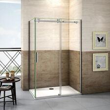 120x100cm Duschkabine Duschabtrennung Schiebetür 8mm Nanoglas Duschwand Dusche