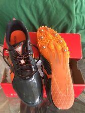 New Puma Complete TFX Sprint 3 Men's Shoes US 11 DRK SHDW/STL GREY/ORANGE/BLK