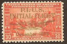 Scott # C53 - 1935 - ' Philippine Islands - US Initial Flight ', # 392 Ovpt in