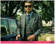 Thomas Crown Affair original 8x10 lobby card USA Steve McQueen in persol glasses