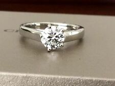 Chaumet of Paris Platinum and Diamond Engagement Ring G VVS1 Triple Exc $10k NEW