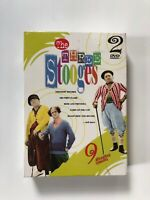 Three Stooges 9 Hilarious Episodes (DVD, 2003, 2-Discs) New Sealed