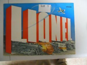 Lot 01: 1938 Lionel Catalog excellent condition
