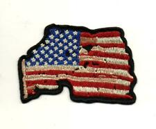 "3566 B26 USA #1 VINTAGE AMERICAN FLAG 2/"" x 3/"" iron on patch Biker vest"