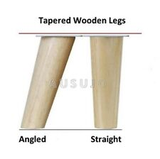 Wooden Furniture Legs Tapered Scandinavian Modern Retro Couch Sofa Cabinet Table
