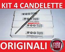 4 CANDELETTE ORIGINALI FIAT SEDICI 2.0 D Multijet 99 KW 135 CV DAL 2006 IN POI