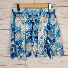Keepsake The Label Skirt Size M A-line Blue Lined