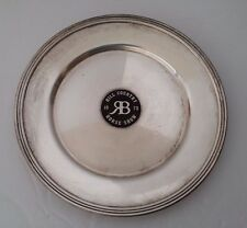 Vintage 1973 HILL COUNTRY ( CLUB ) TEXAS HORSE SHOW SILVER PLATED PLATE DISH