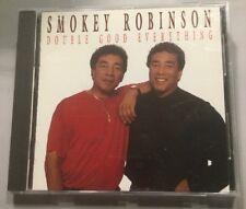 Smokey Robinson - Double Good Everything (CD, 1991)