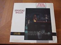 "SPANDAU BALLET Lifeline Club Mix 1983 US Original Promo VINYL 12""Single 4V942681"