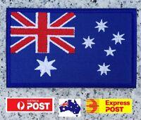 Australia Flag Iron On Patch Sew Badge Aussie