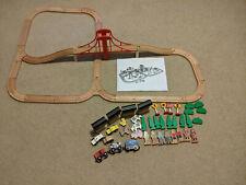 "Toys ""R"" Us Imaginarium Express Mega Train World Wooden Rail Trees People Animal"