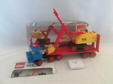 Lego Legoland - 383 Truck with Excavator