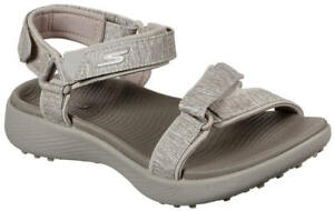 Skechers Women's Go Golf 600 Golf Sandal 17015TPE Taupe Ladies New