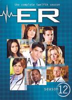 ER: The Complete Twelfth Season (Season 12) (6 Disc) DVD NEW
