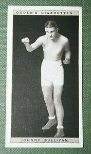 British Middle-weight Boxer  Johnny Sullivan  Original Vintage Photo Card