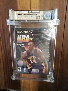 NBA 07 Feat. the Life Vol. 2 WATA GRADED 9.8 A+ PlayStation 2 PS2 Kobe Bryant 24